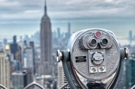 see sights of Top of the Rock