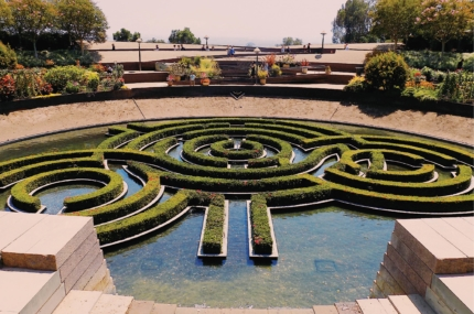 see sights of Getty Center