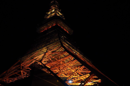 see sights of Tokyo Tower